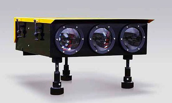 Papi Halogen Precision Approach Path Indicator System